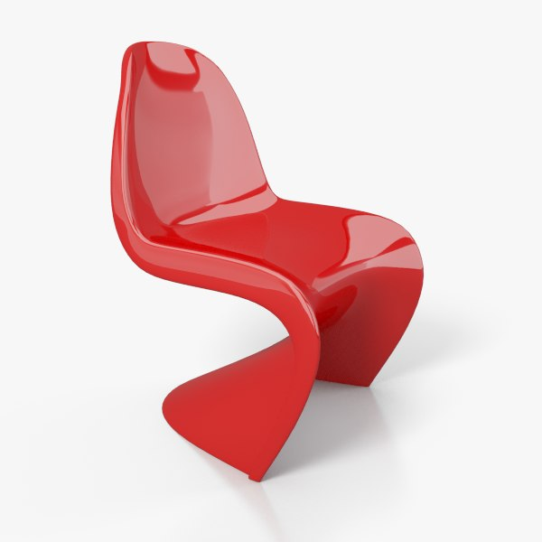 3d panton chair model
