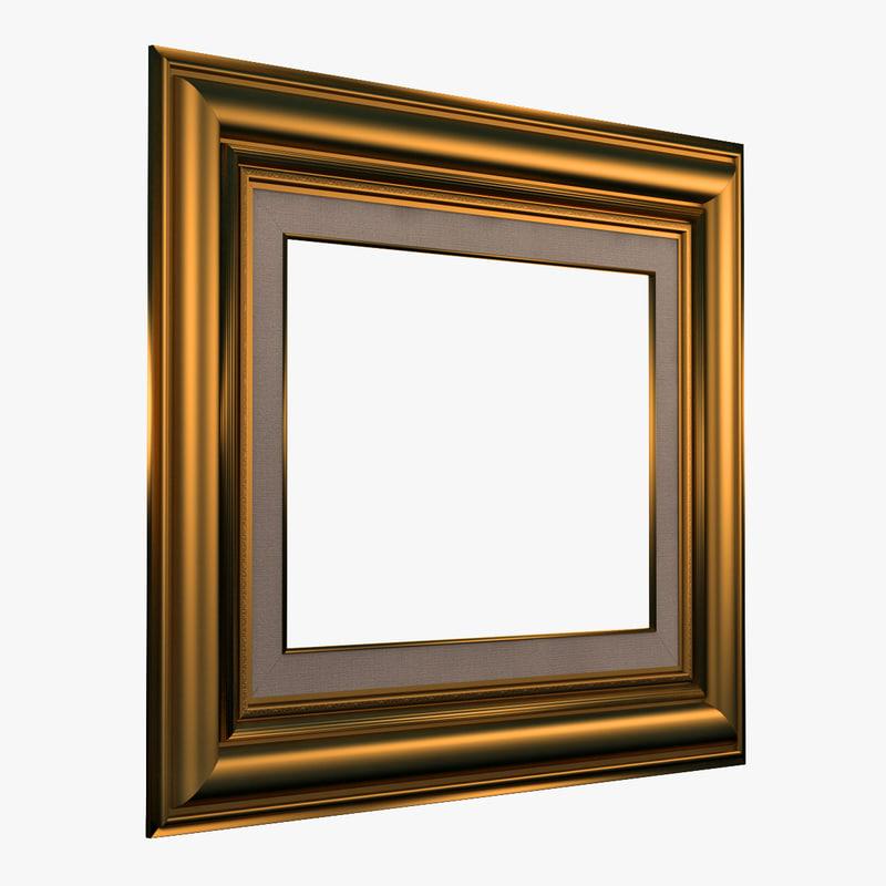 3d picture frame v12 model