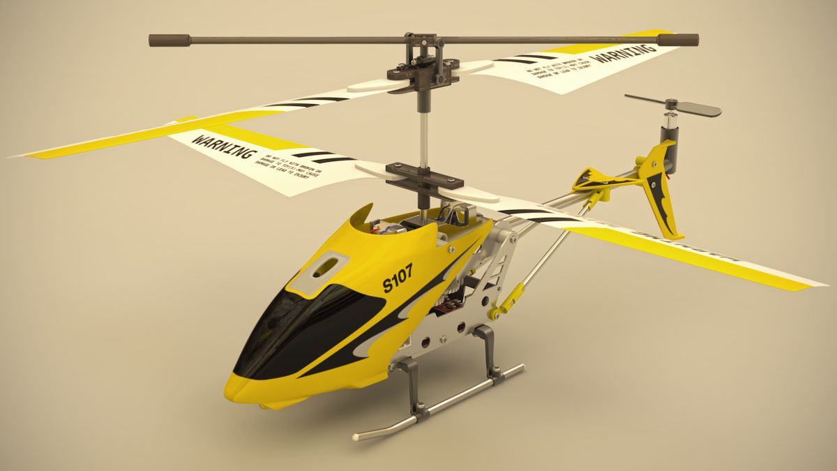 3d remote helicopter
