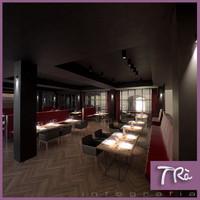restaurant lounge scene max