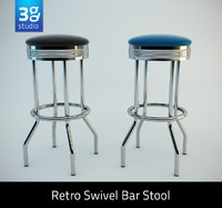 Retro Bar Stool