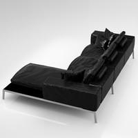 3d flexform lifesteel 178 cm model