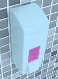 3d soap dispenser