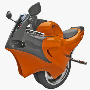 3d uno electric motorcycle