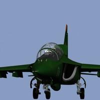 yakovlev yak-130 jet airplane 3d max