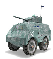 3d armored cars model