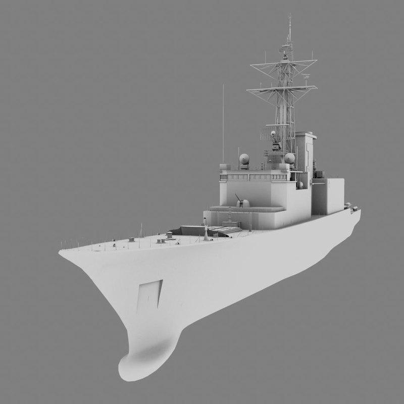 destroyer algonquin obj
