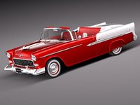 chevrolet chevy bel air 3d model