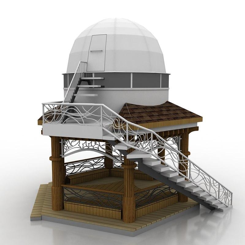 max gazebo observatory