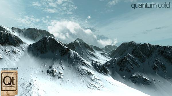 3ds max quantum mountain