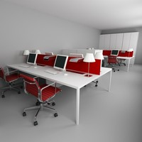 office interior 3d x