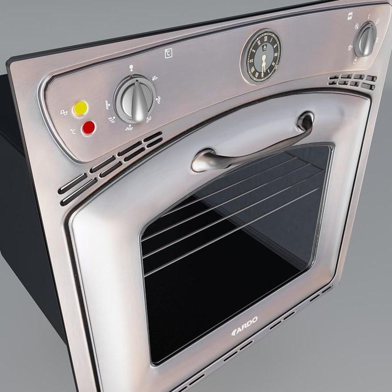 max oven old antique ardo
