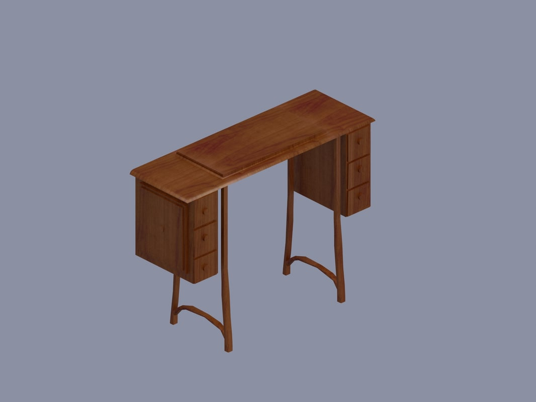 max sewing machine desk