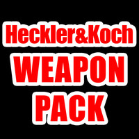 pack heckler koch weapons obj