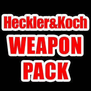 pack heckler koch weapons obj