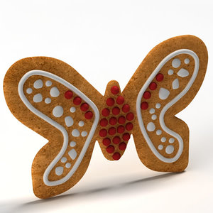 3ds max gingerbread ginger bread