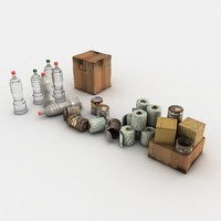 Junk Pet Bottles Paper Boxes Cans Toilet Paper Rolls