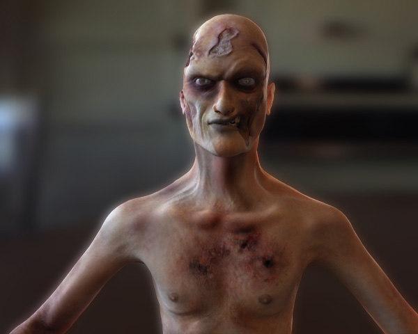 zombie fantasy 3d max