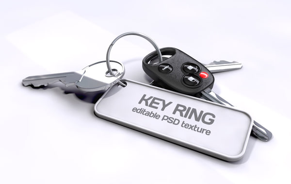 set car keys c4d