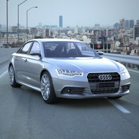 3D Audi A6 2012