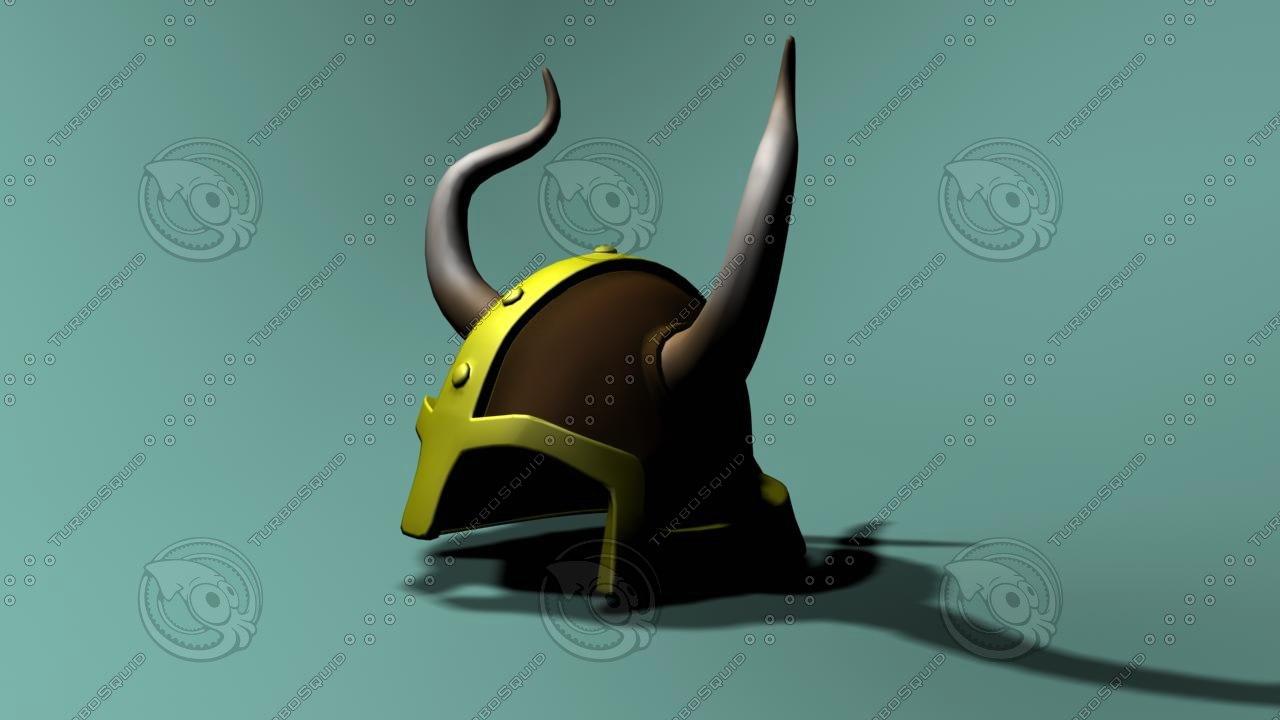 3d helm helmet viking
