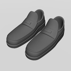 max leather formal shoe