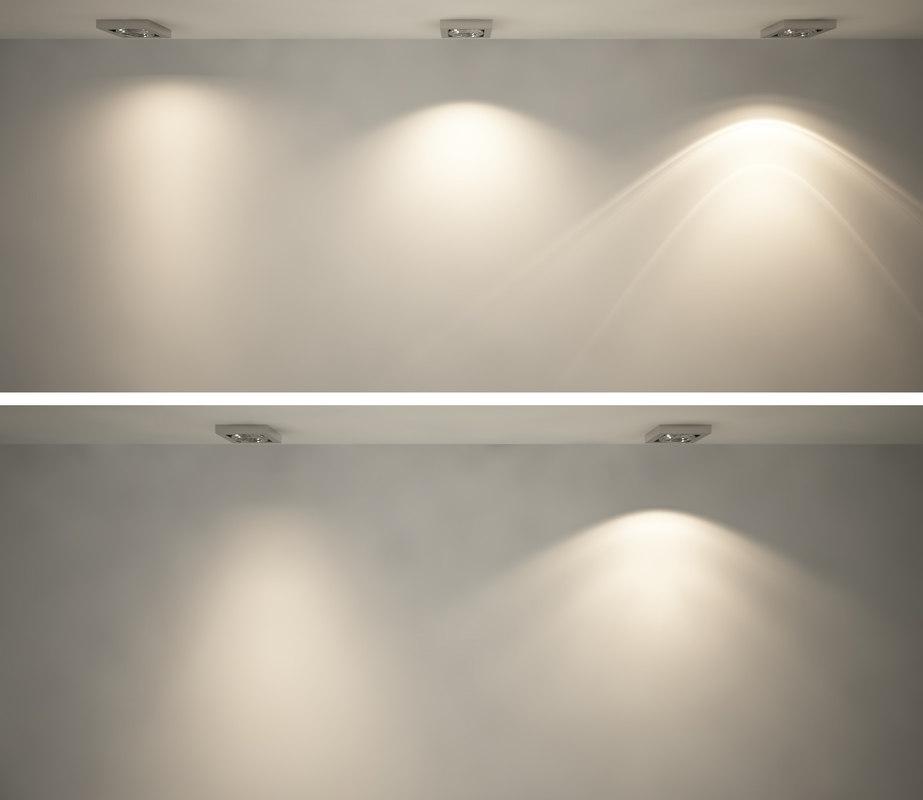 IES lighting  Five realistic lights  Vray