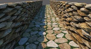 max stone road floor wall