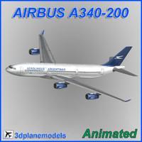 max airbus a340-200