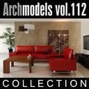 3d archmodels vol 112 dining room model