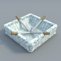 square ashtray max