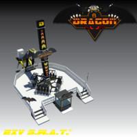 3d dragon loop model