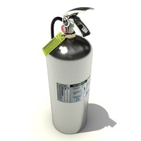 industrial extinguisher fighters 3d max