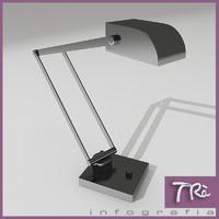 flex lamp interior offices 3d max