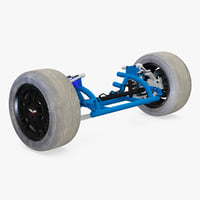 3d suspension modelled