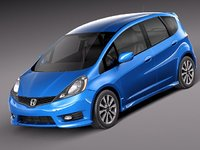Honda Fit - Jazz Sport 2012