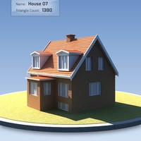 3ds max house danish ready