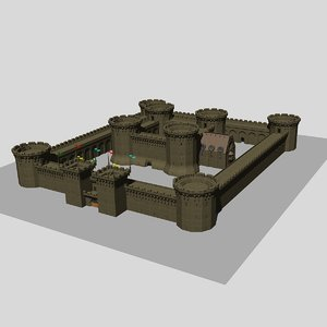 solid castle 5 dwg free