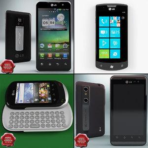 3d model lg phones v1