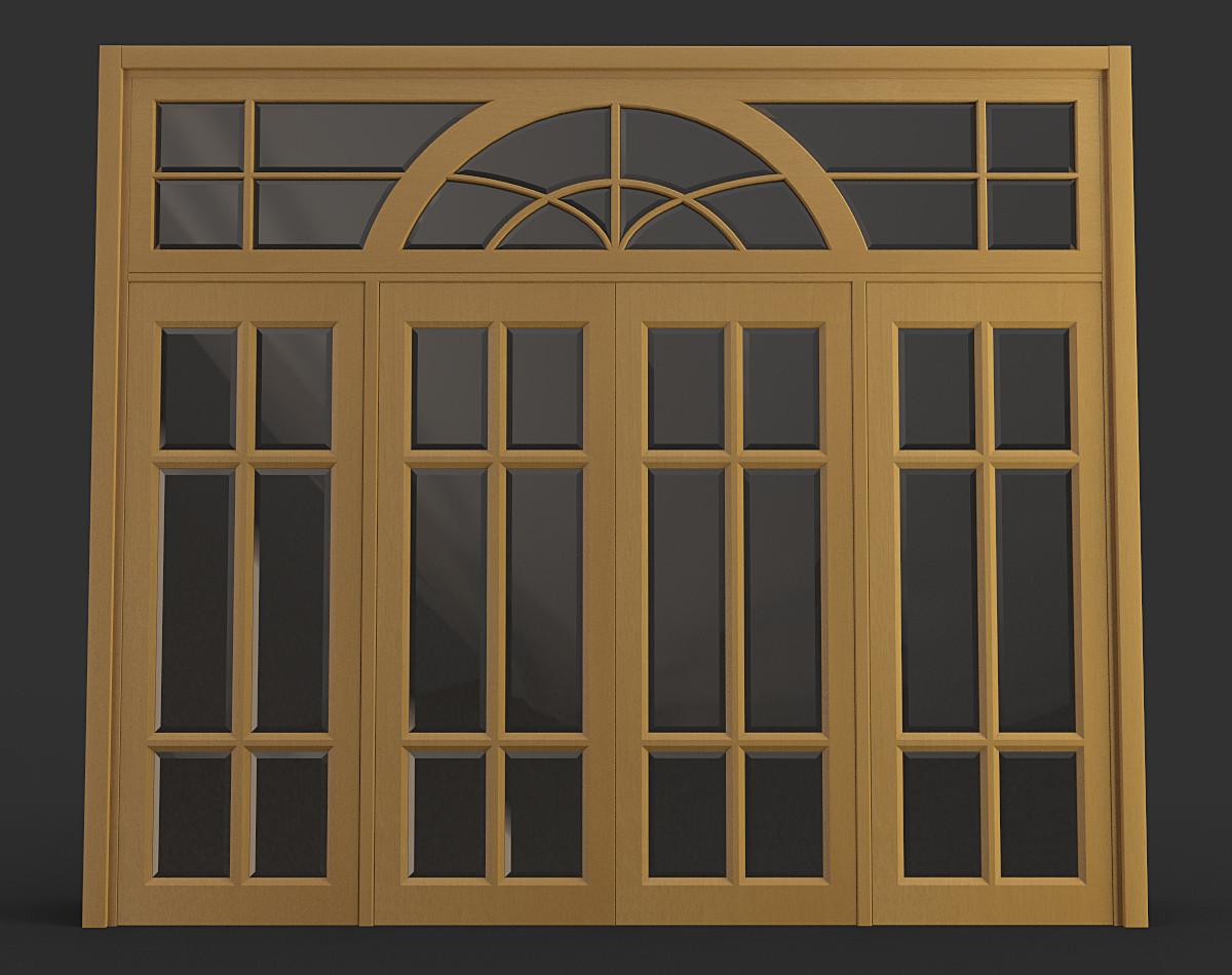 large door 3d max