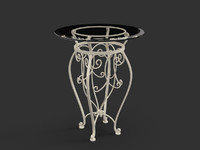 3d forged table model