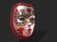 3dsmax venetian mask