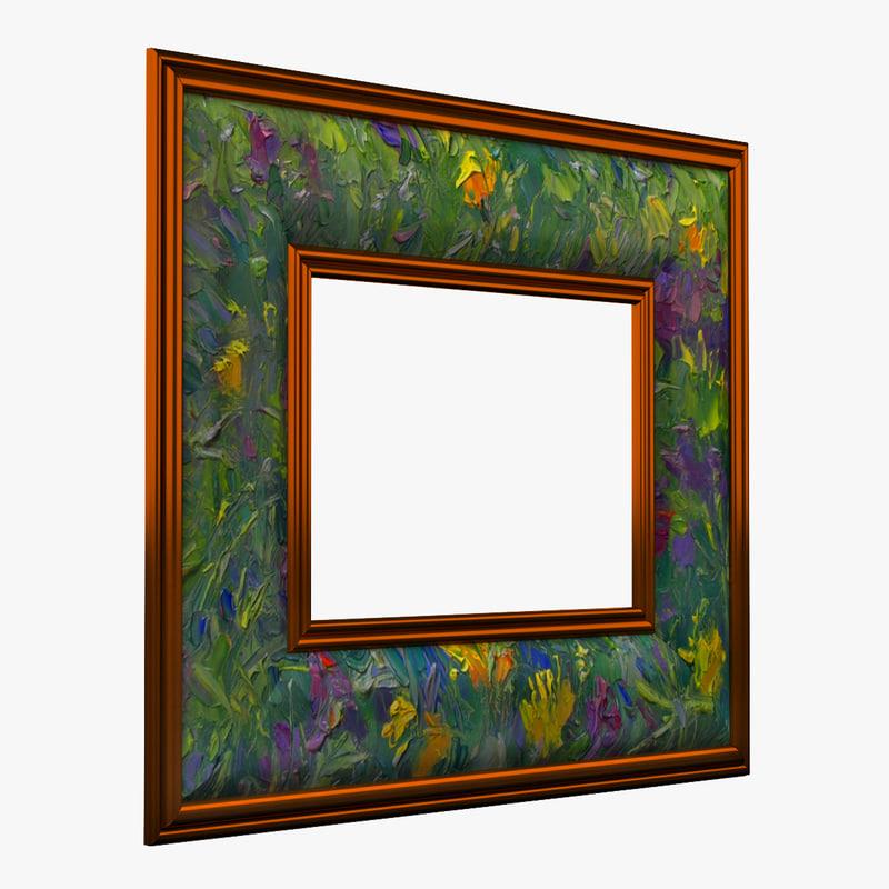 3d picture frame v11 model