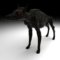 3d hound hellhounds model