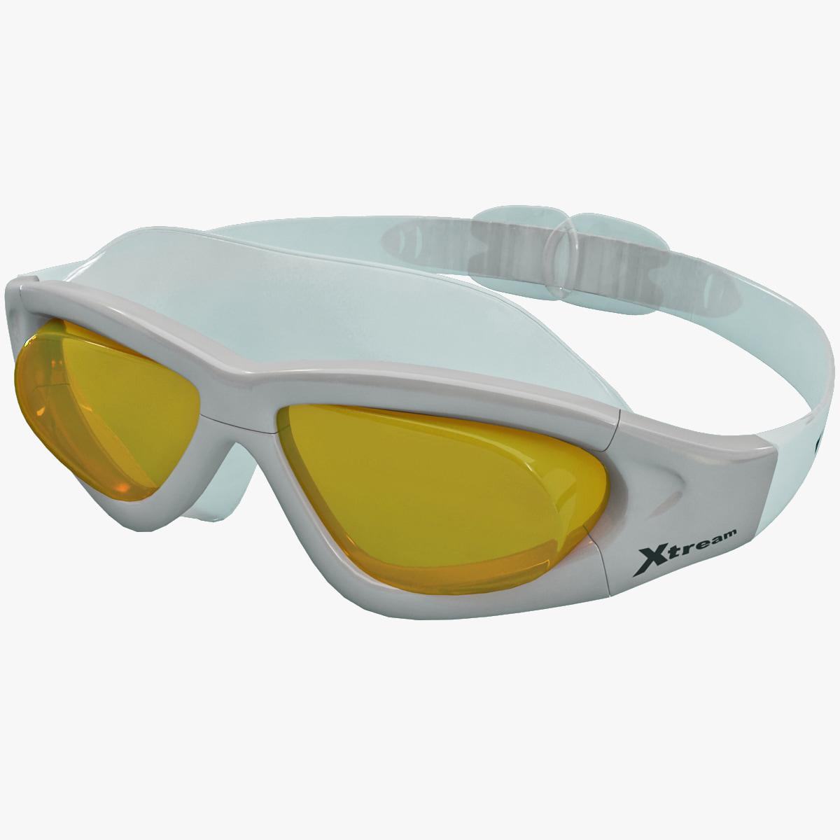 3d ski swim xtreme goggles model