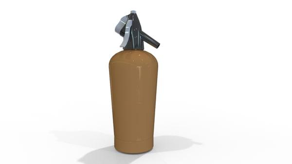3d model water siphone