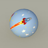 Toy Space Ball 02