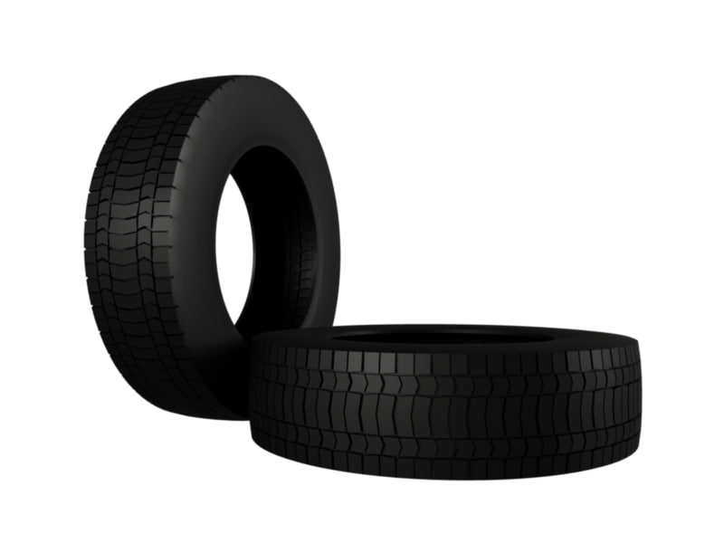3d 3ds tire tyre wheel vehicle truck
