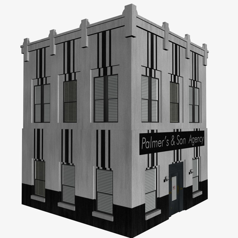 3dsmax small building
