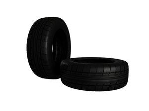 tire tyre wheel zeon 3d c4d